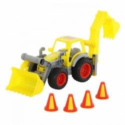 Traktor-ładowarka z łyżką ConsTruck WADER