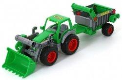 Traktor-ładowarka z naczepą Farmer-technik WADER