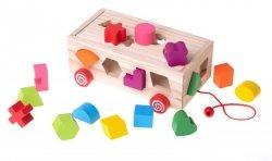 Zabawka edukacyjna sorter dopasuj kształty figury