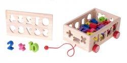 Zabawka edukacyjna sorter dopasuj kształty cyfry