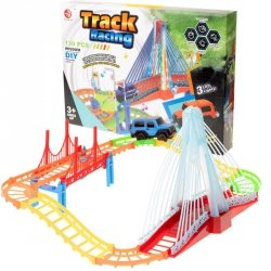 Tor samochodowy Track Racing + samochód 130el.