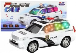 Auto Policyjne Police Car Policja Światło Dźwięk