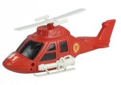 Zestaw Straż Pożarna Helikopter Strażacki Figurki