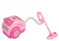 Odkurzacz z Dźwiękiem Wirujące Kulki Zabawka Róż