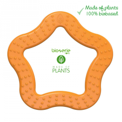 Gryzak sensoryczny Bioserie Teether Star Orange