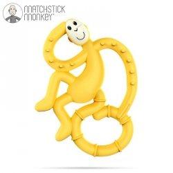Gryzak Masujący Matchstick Mini Monkey Yellow