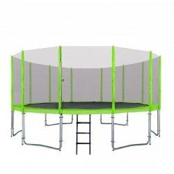 Trampolina Ogrodowa 16FT 487cm Zielona