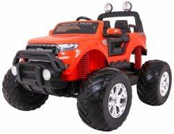 Auto na akumulator  Ford Ranger MONSTER 4x4 Pomarańczowy