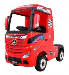 Auto Ciężarówka Tir na akumulator Mercedes Benz Actros Czerwony