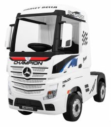 Auto Ciężarówka Tir na akumulator Mercedes Benz Actros Biały