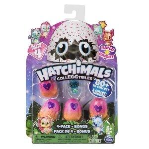 Hatchimals 4-pak z bonusem S4 Ast.