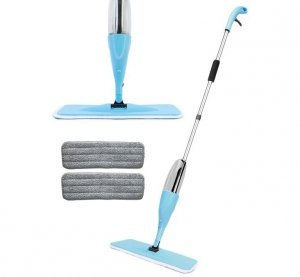 Spray mop płaski ze spryskiwaczem obrotowy 2wkłady