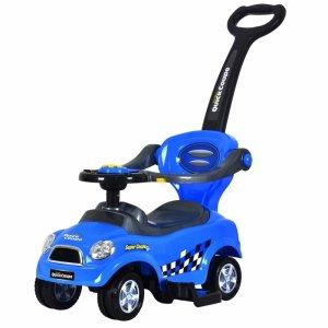 Jeździk chodzik pchacz  niebieski