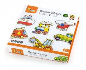 Drewniane magnesy pojazdy Viga