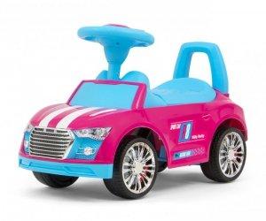 Jeździk Racer Pink-Blue Milly Mally