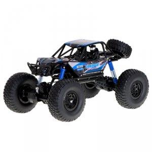 Auto zdalnie sterowane RC Crawler Climbing Car 1:10 4WD niebieski