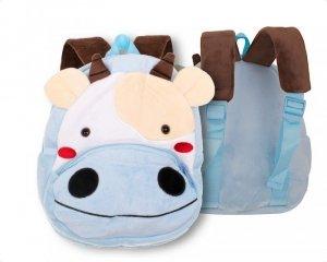 Plecak pluszowy dla przedszkolaka krówka