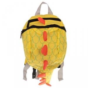 Plecak przedszkolaka smok wodoodporny żółty