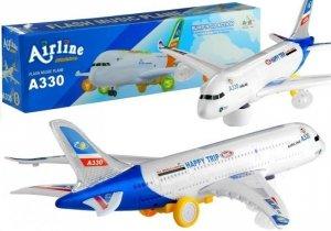 Samolot Świeci Gra Jeżdżący Napęd Bump n Go 45 cm