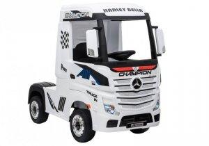 Auto Ciężarówka Tir na Akumulator Mercedes Actros Biały MP4