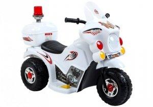 Motor motorek na akumulator dla dzieci Biały