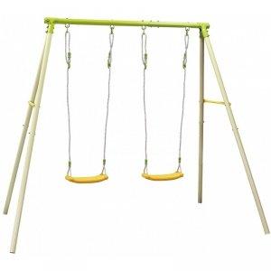 Huśtawka ogrodowa 2 osobowa plac zabaw dla dzieci