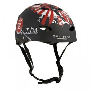 Kask dla dzieci rolki, rower Spartan r.S