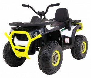 Quad na akumulator ATV Desert Biały