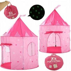 Świecący namiot w ciemności dla księżniczki 135cm