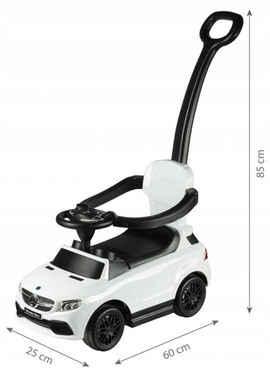 Jeździk pchacz Mercedes AMG GLE 63 Biały