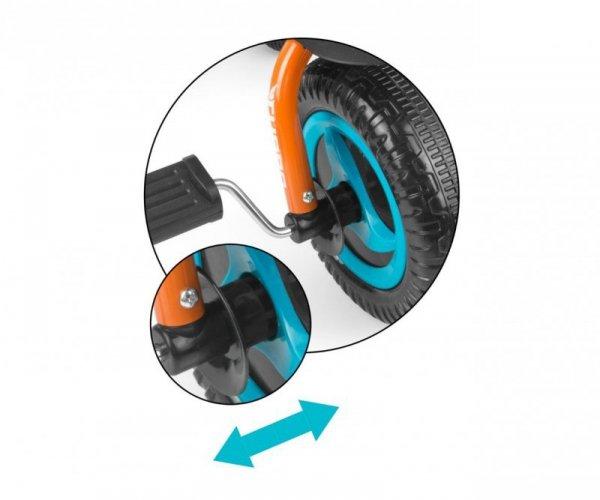 Rowerek Turbo Orange-Turquise Milly Mally