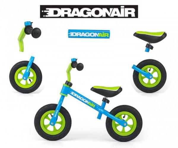 Rowerek Biegowy Dragon Air Blue Milly Mally