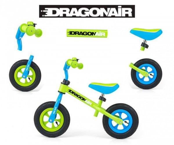 Rowerek Biegowy Dragon Air Green Milly Mally
