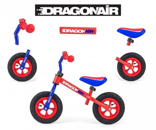 Rowerek Biegowy Dragon Air Red-Blue Milly Mally