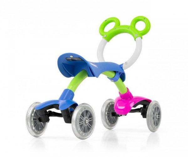 Rowerek biegowy jeździk  Orion Flash Multicolor Milly Mally