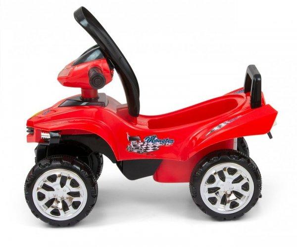 Jeździk pchacz Monster Red Milly Mally