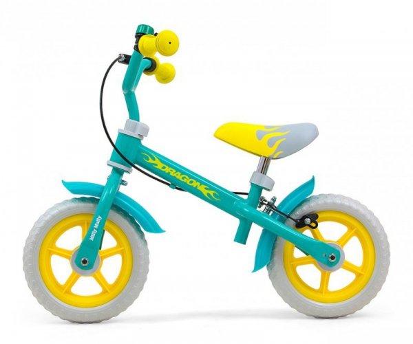 Rowerek biegowy Dragon z hamulcem Mint Milly Mally
