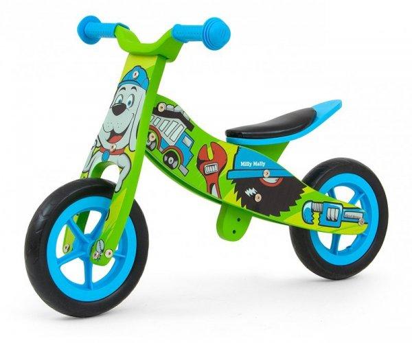 Drewniany rowerek biegowy 2w1 Look Bob Milly Mally