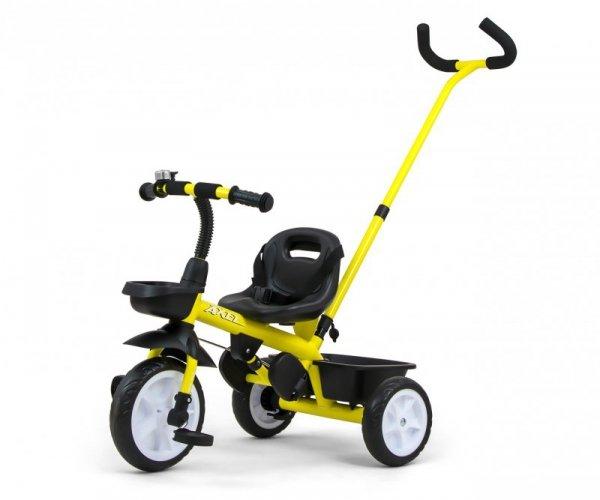 Rowerek Trójkołowy Axel Yellow Milly Mally