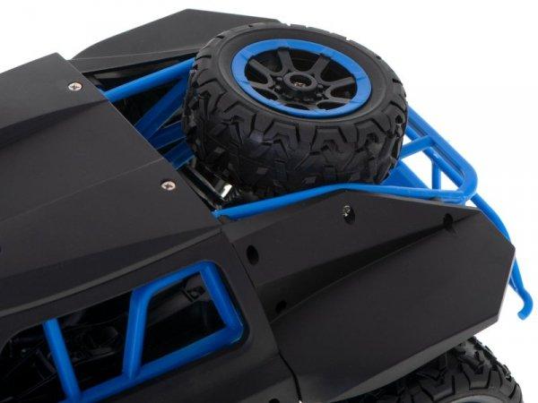 Auto zdalnie sterowane RC Racing Rally 2.4Ghz 4WD czarny 1:18