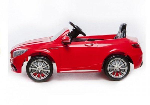 Auto na Akumulator Mercedes S63 AMG Czerwony