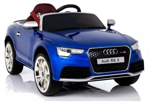 Auto na Akumulator Audi RS5 Niebieskie Lakierowane