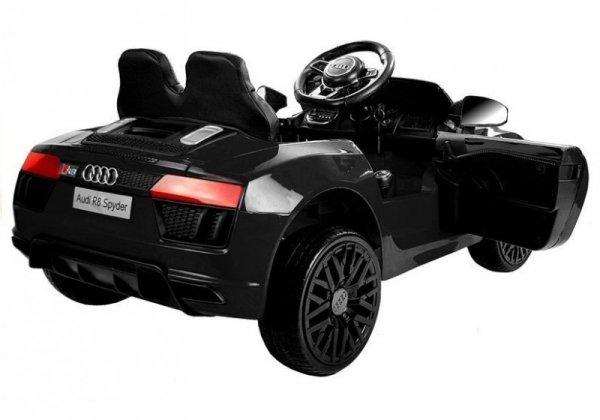 Auto na akumulator Audi R8 Spyder Czarny