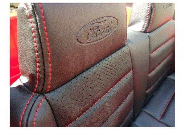 Auto na Akumulator Ford Czerwony 4x4 Koła EVA