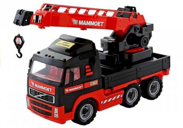 Samochód autko dźwig Volvo MAMMOET Polesie Wader 56979