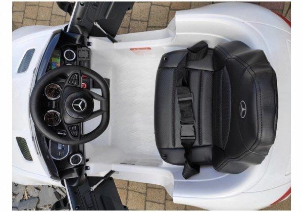 Auto na Akumulator Mercedes AMG GTR Biały