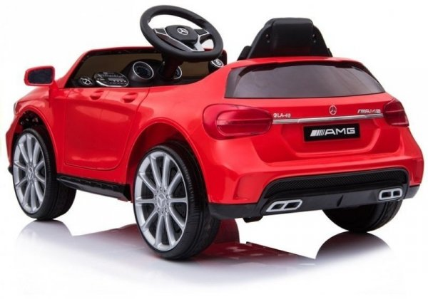 Auto na Akumulator Mercedes GLA45 Czerwony