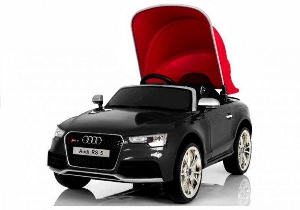 Auto na Akumulator Audi RS5 Czarne Lakierowane