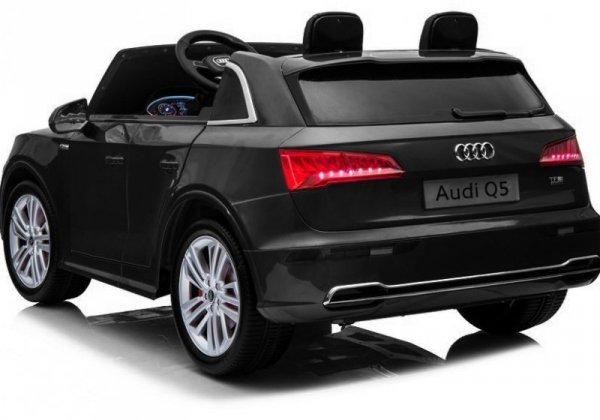 Auto na Akumulator Audi Q5 2-os Czarny Lakier