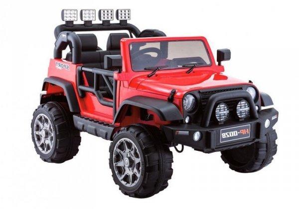 Auto na Akumulator HP002B Czerwony